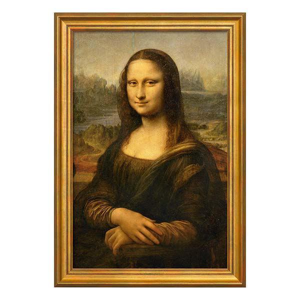 Product afbeelding: Leonardo da Vinci Schilderij 'Mona Lisa (La Gioconda)'