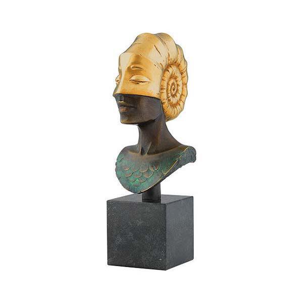 Product afbeelding: Michael Becker buste 'Het hoofd van Ammonite'