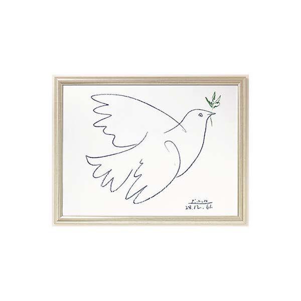 Product afbeelding: Pablo Picasso Schilderij 'Vredesduif'
