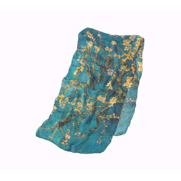 Product afbeelding: Zijden sjaal 'Amandelbloesem'