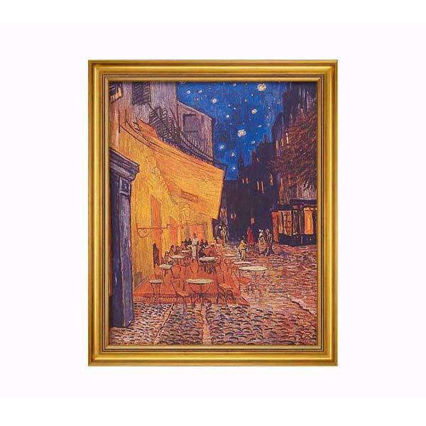 Product afbeelding: Schilderij 'Caféterras bij nacht'
