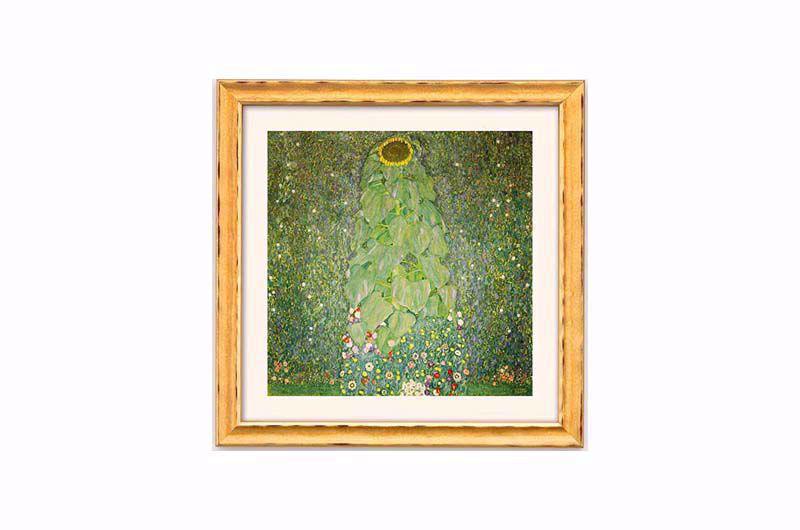 Product afbeelding: Gustav Klimt, 'De zonnebloem'