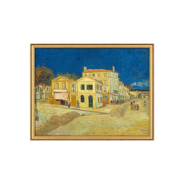 Product afbeelding: Vincent van Gogh Schilderij 'Het gele huis'