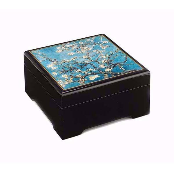 Product afbeelding: Vincent van Gogh Muzikale bewaarbox 'Amandelbloesem'