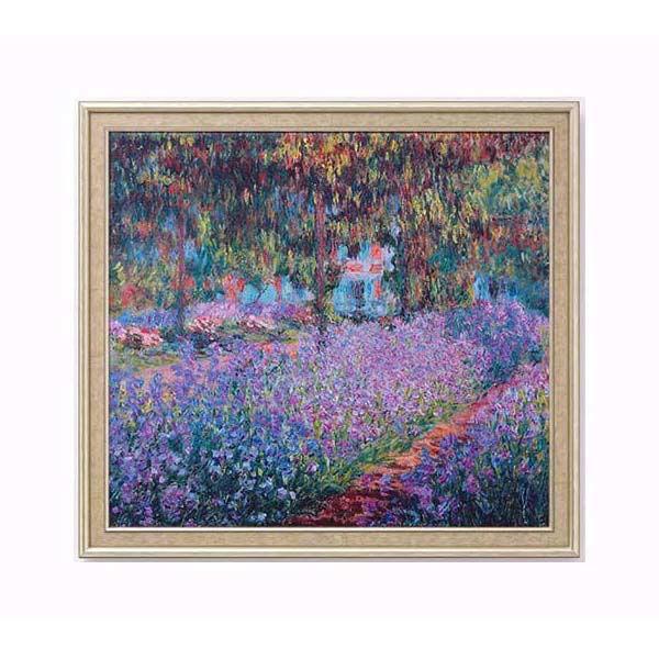 Product afbeelding: Irisbeet in de tuin van Monet