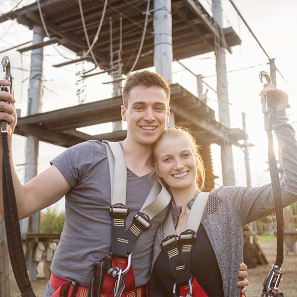 Product afbeelding: Klimpark 'Zips & Ropes'
