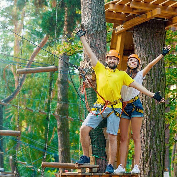 Klimpark'Zips en Ropes' Houten