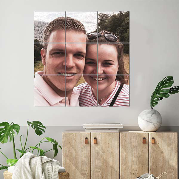 Product afbeelding: Foto over meerdere squares