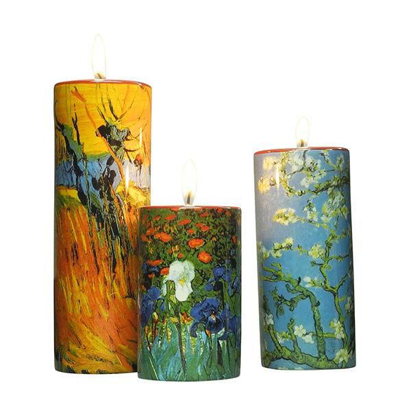 Product afbeelding: Vincent van Gogh 3 theelichthouders