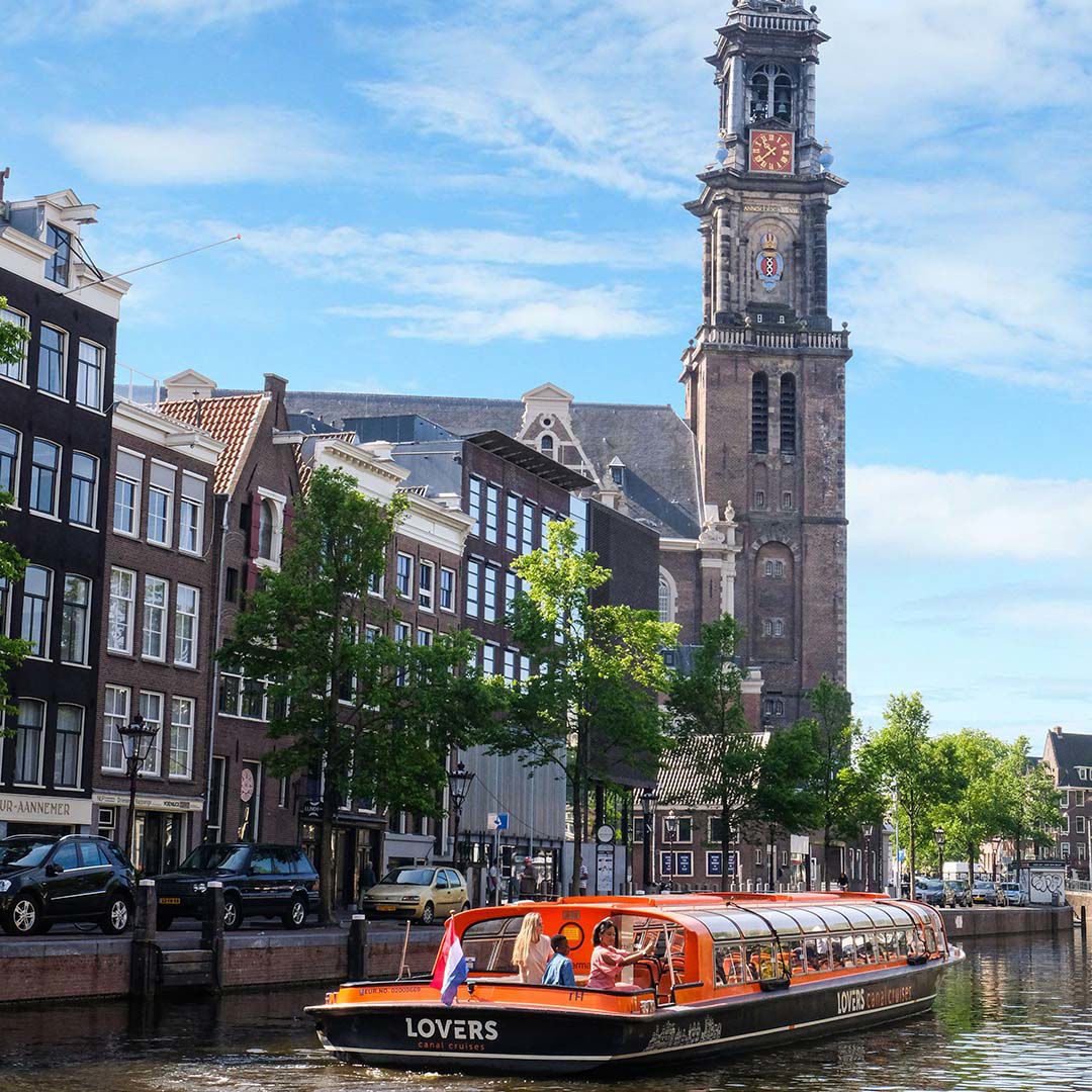 Lovers Rondvaart Amsterdam Leiden
