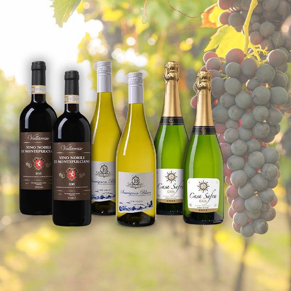 Product afbeelding: Wijnvoordeel Zomers wijnpakket