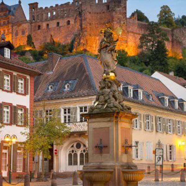 Ontdek het Duitse Odenwald Heidelberg