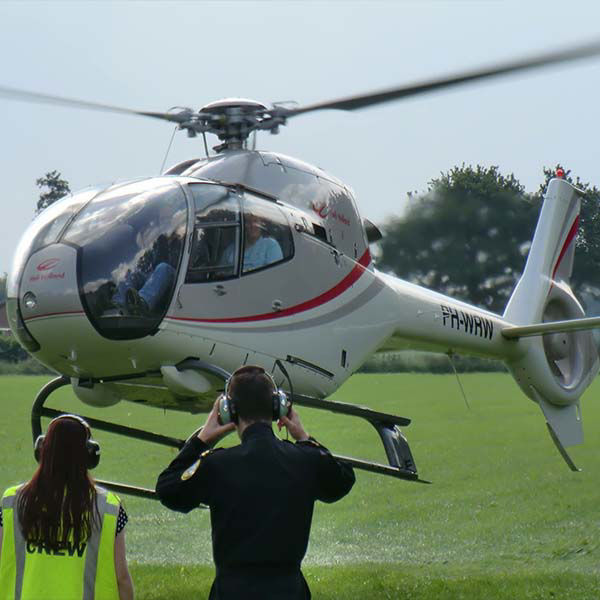 Product afbeelding: Helikoptervlucht & Segway rit