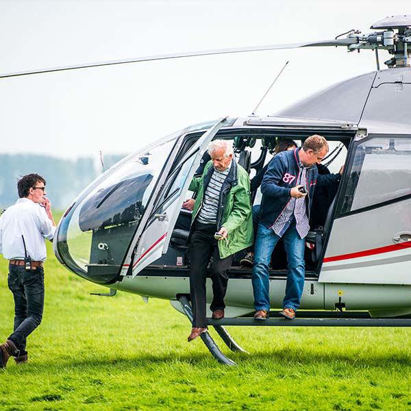 Korting Helikoptervlucht en Segway rit