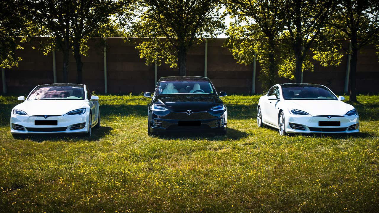 Product afbeelding: Tesla rijden 30, 45 of 75 minuten