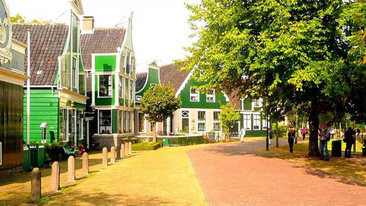 Product afbeelding: Fietsvakantie Amsterdam & Zaanse Schans
