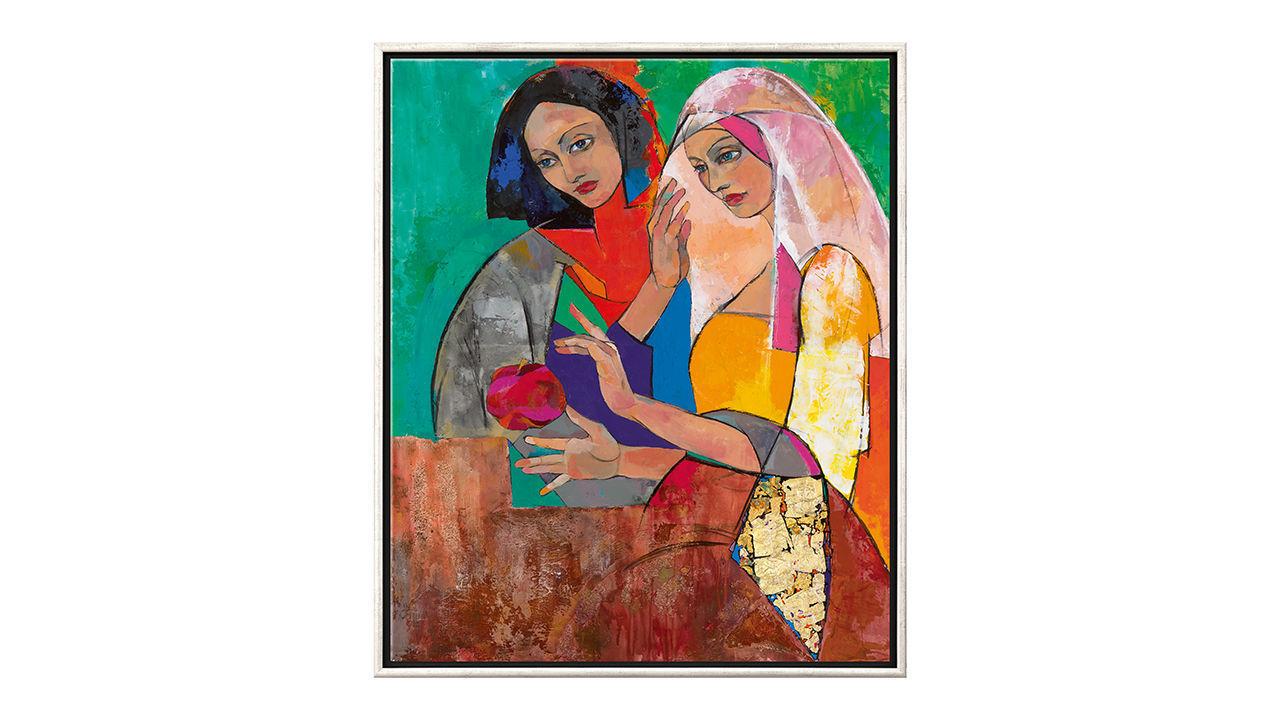 Product afbeelding: Marina Krasnitskaya schilderij 'Melodie van het Zuiden - Sussen'