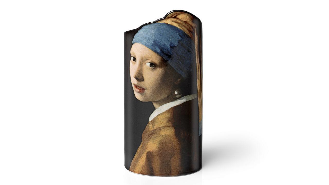 Product afbeelding: Johannes Vermeer porseleinen vaas 'Het meisje met de parel'