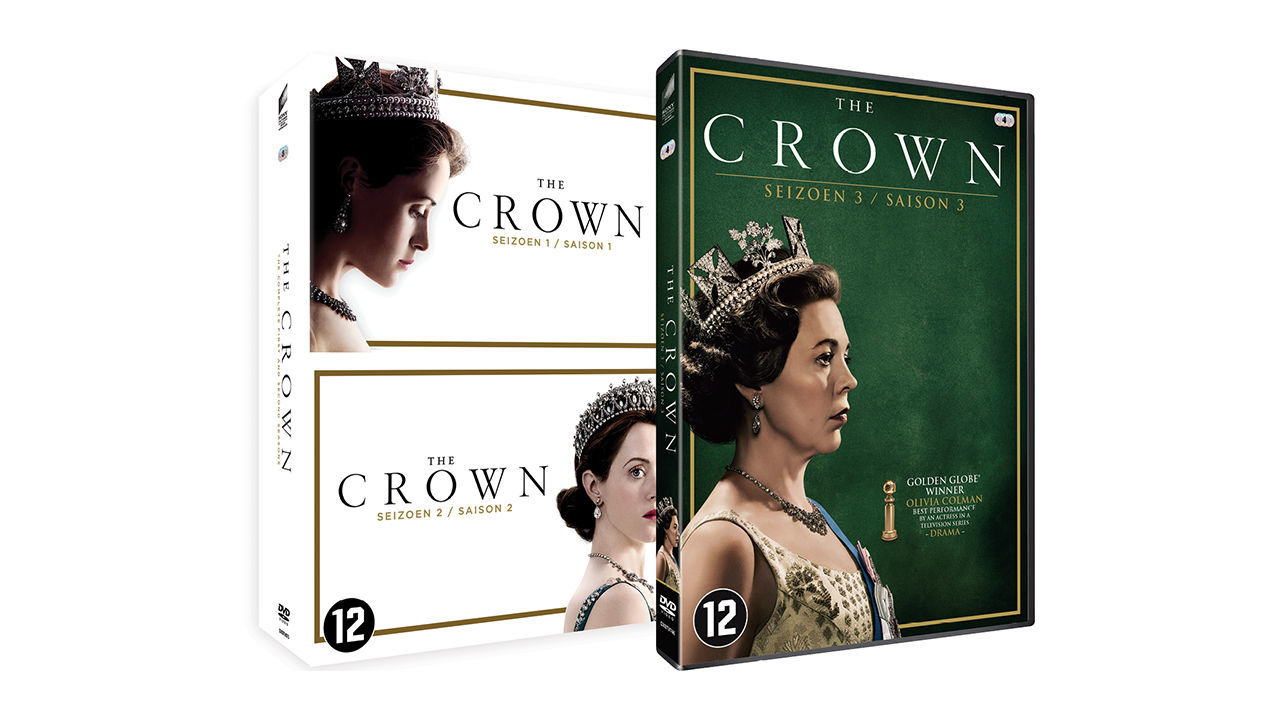 Product afbeelding: The Crown - seizoen 1 t/m 3