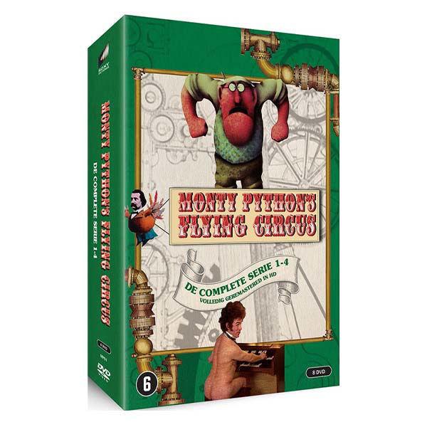Korting Monty Python Euro s Flying Circus dvd box seizoen 1 t m 4