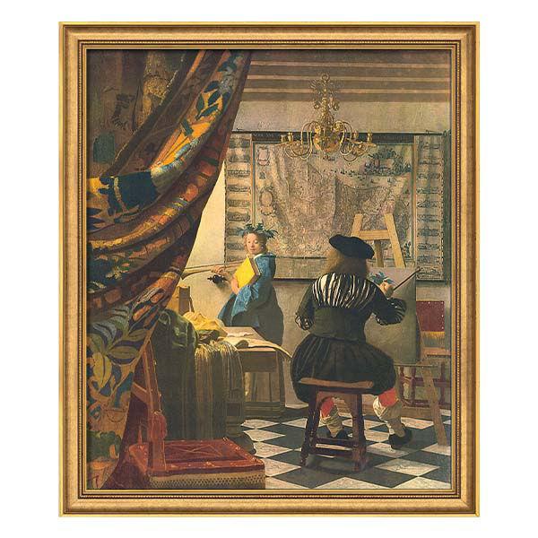 Product afbeelding: Johannes Vermeer Schilderij 'De schilderkunst'