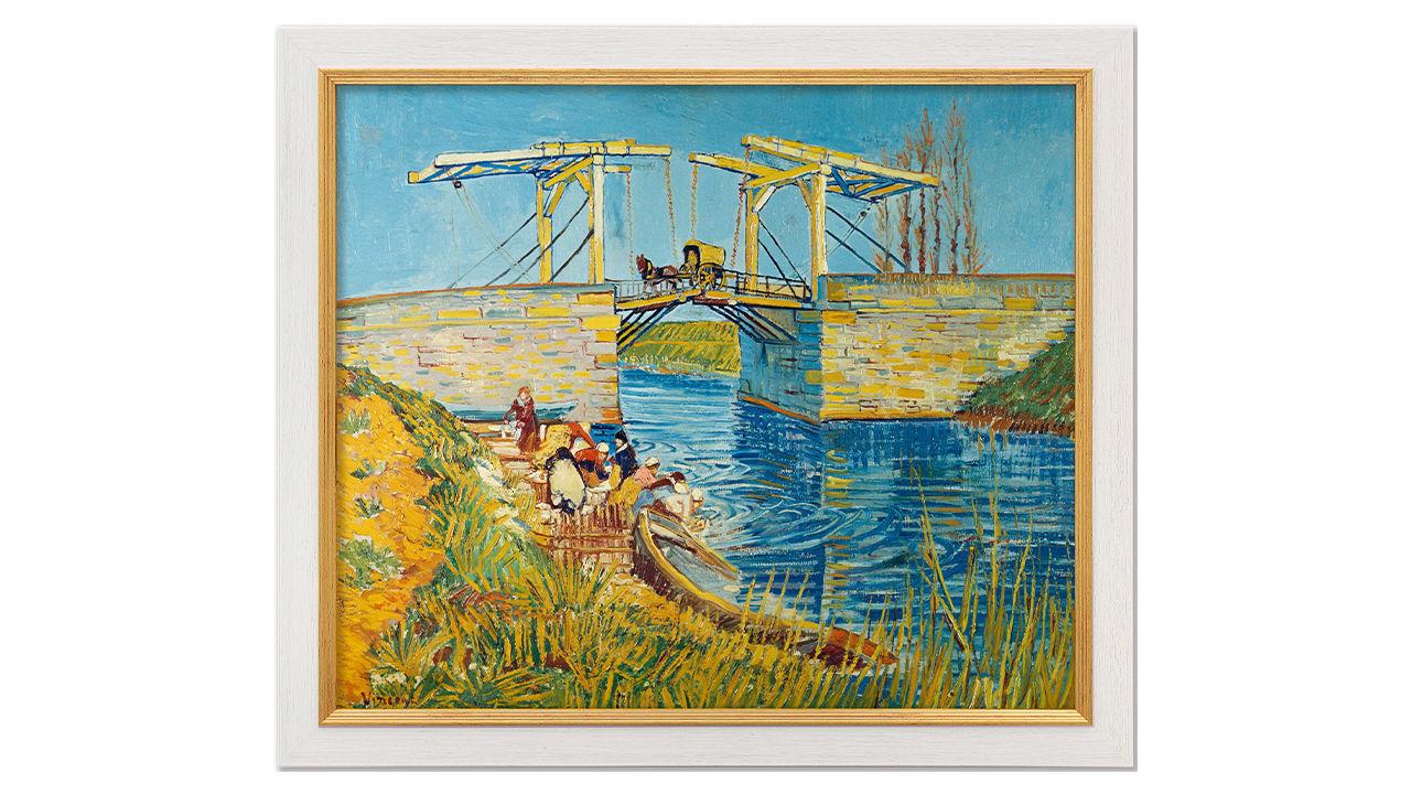 Product afbeelding: Vincent van Gogh schilderij 'Brug te Arles'