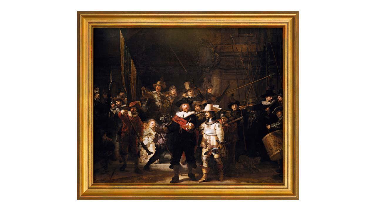 Product afbeelding: Schilderij 'De Nachtwacht'