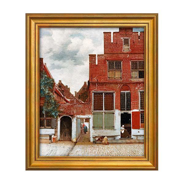 Product afbeelding: Johannes Vermeer schilderij 'Het Straatje'