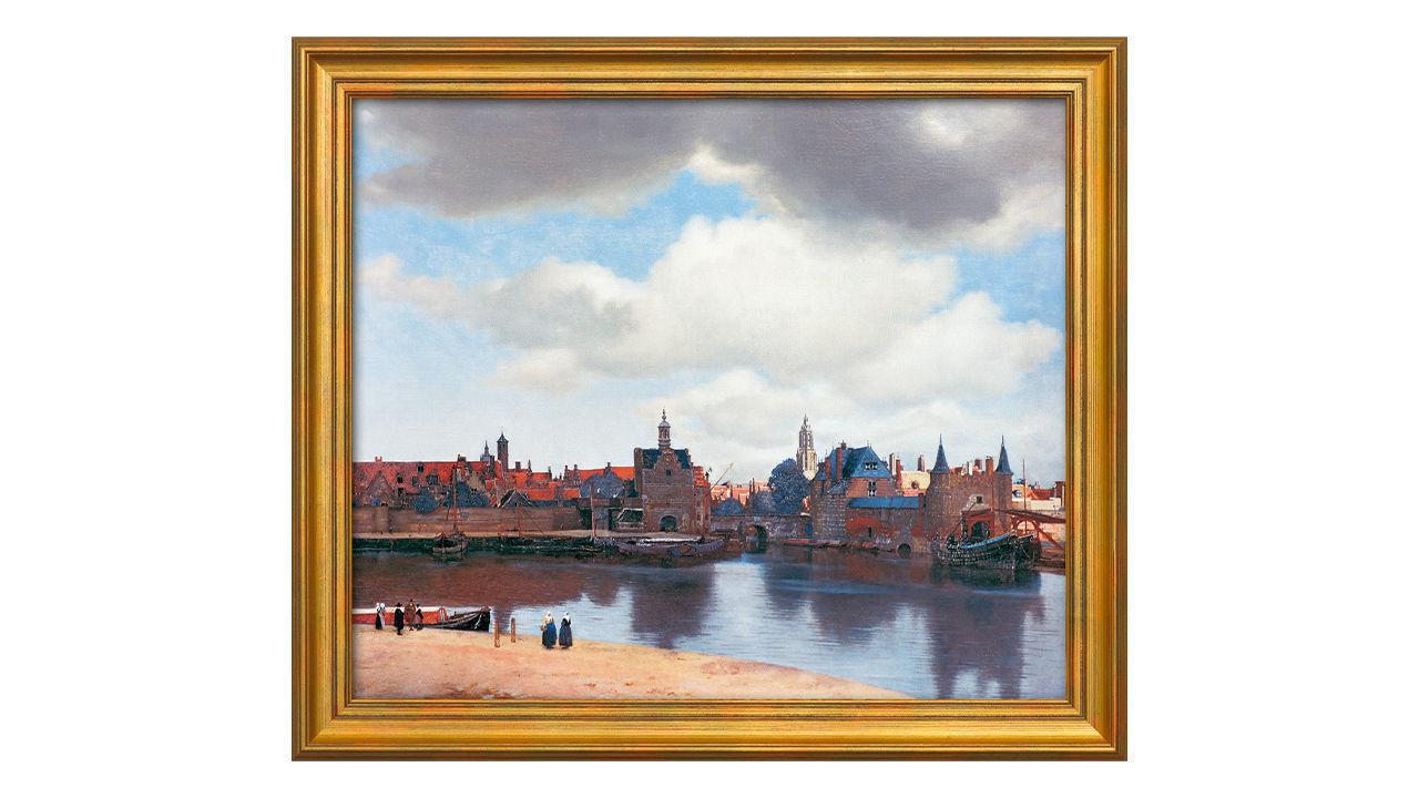 Product afbeelding: Johannes Vermeer schilderij 'Gezicht op Delft'