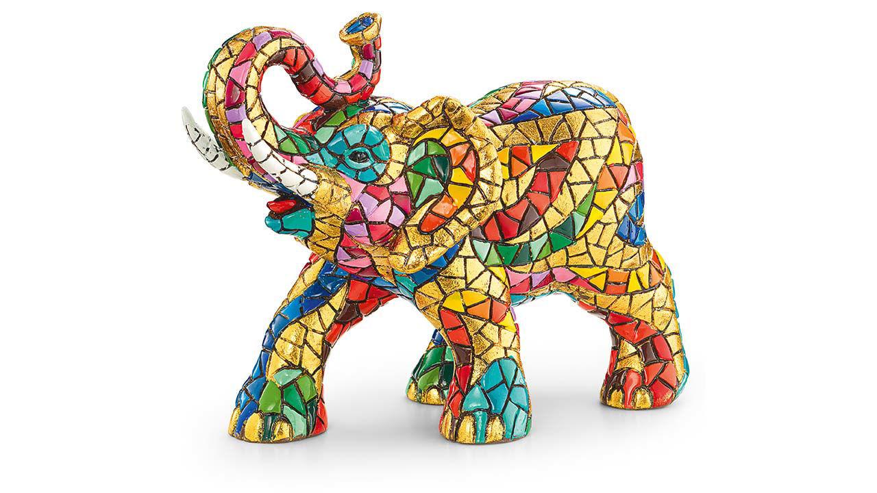 Product afbeelding: Mozaïek figuur 'Olifant'