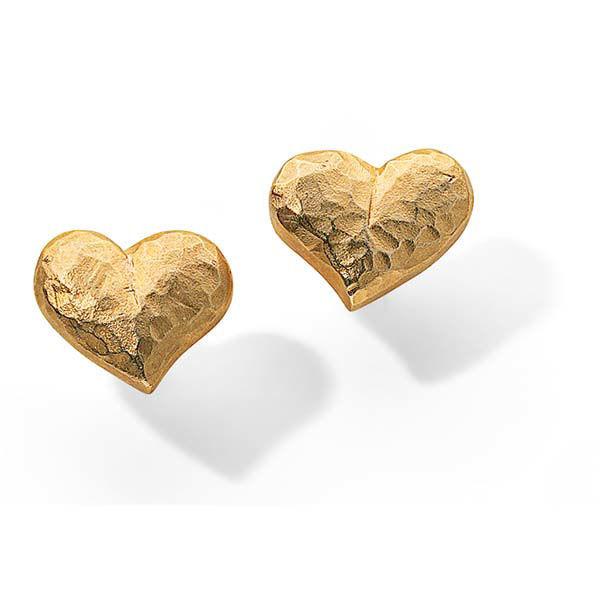 Product afbeelding: Hart oorknopjes 'Juliet'