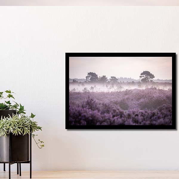 Product afbeelding: Fotoprint Heide in bloei