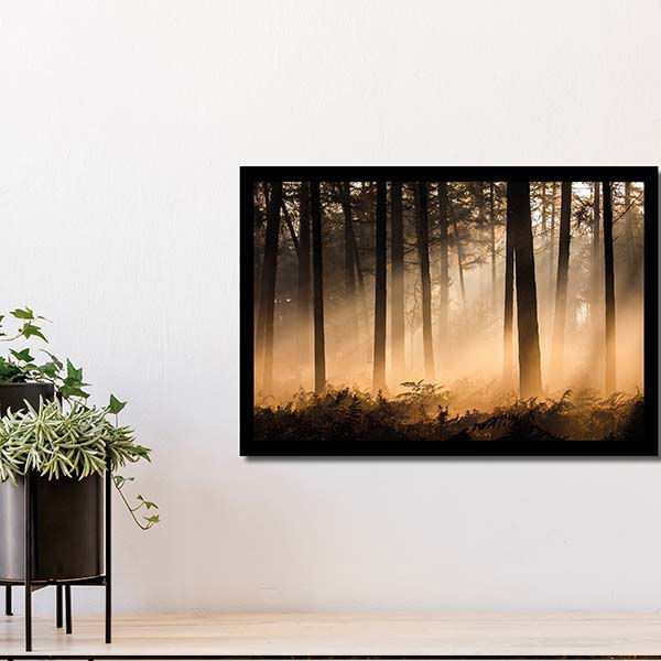 Product afbeelding: Fotoprint Zonsopgang in Breda