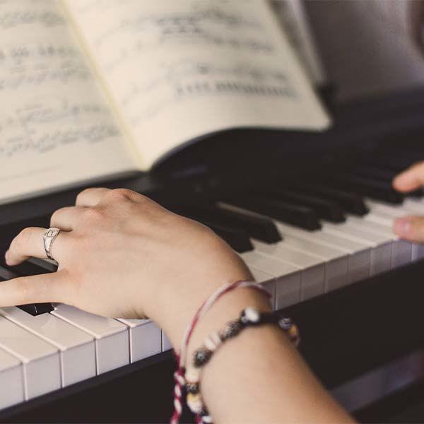 Product afbeelding: Online cursus   Piano