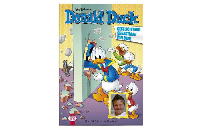 Product afbeelding: Gepersonaliseerde Donald Duck