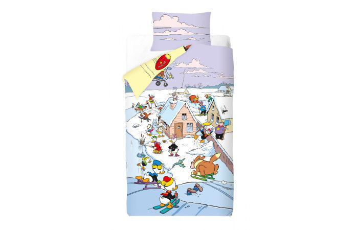 Product afbeelding: Donald Duck Dekbedovertrek Seizoenen