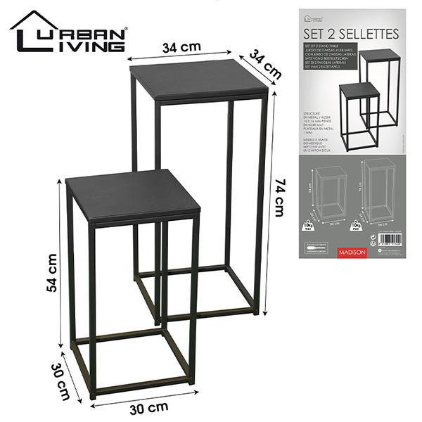Product afbeelding: Urban Living - Metalen bijzettafels