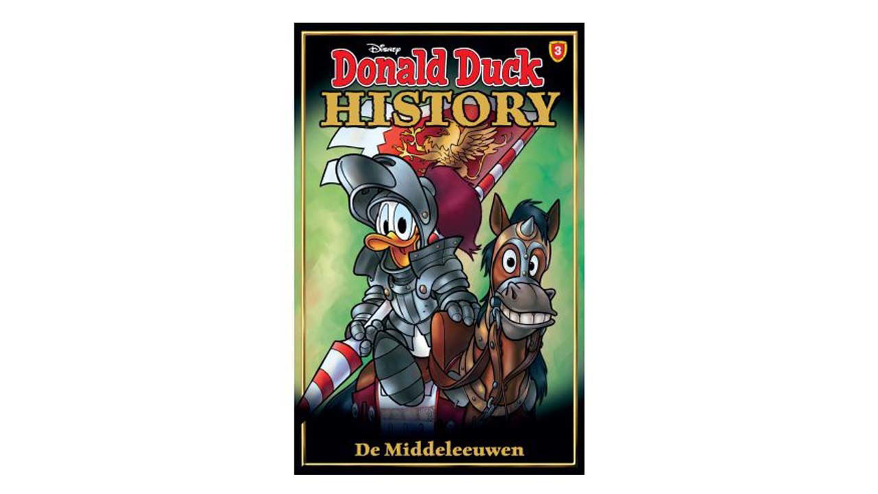 Product afbeelding: Donald Duck History Pocket 3