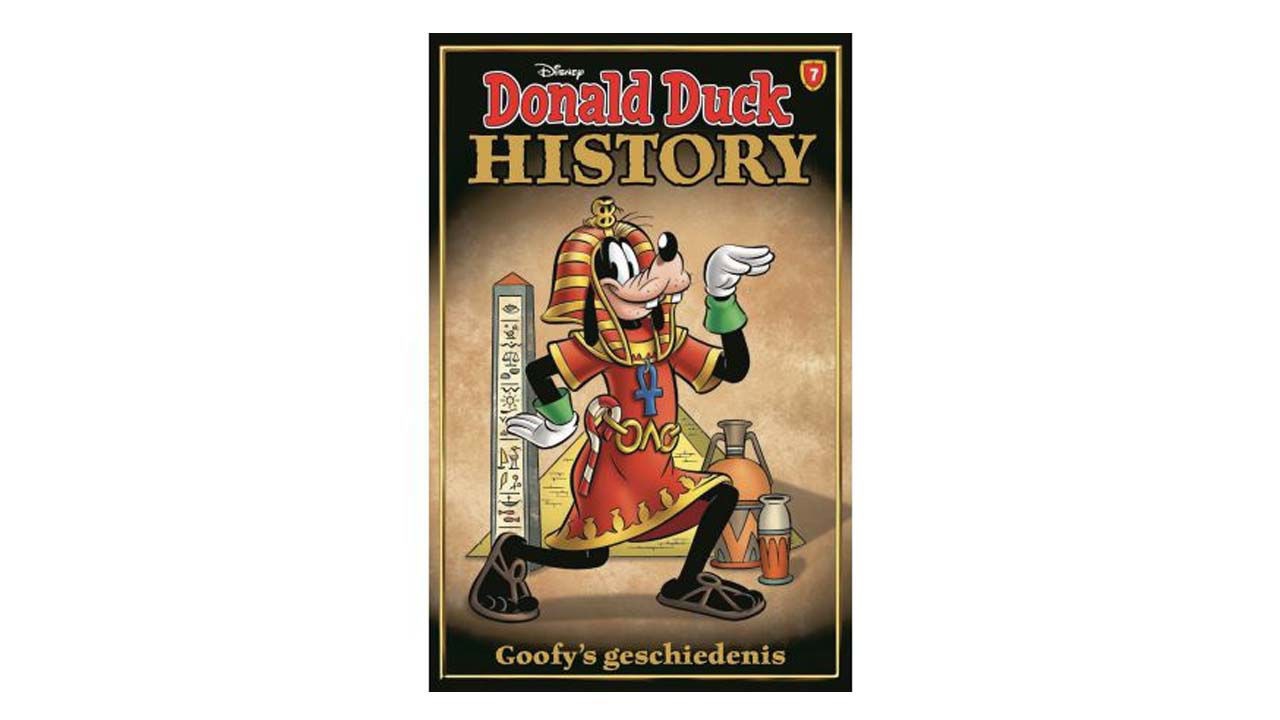 Product afbeelding: Donald Duck History Pocket 7