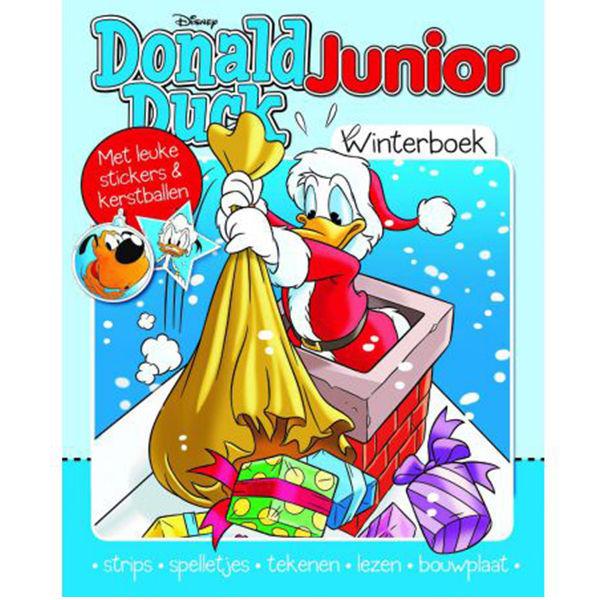 Product afbeelding: Donald Duck Junior Winterboek 2020
