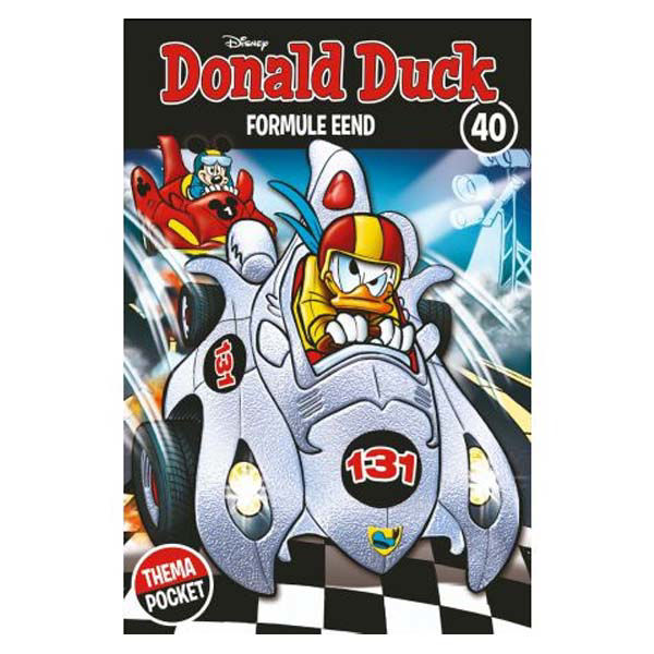 Product afbeelding: Donald Duck Themapocket 40