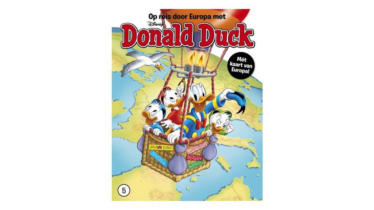 Product afbeelding: Donald Duck Reis door Europa deel 5