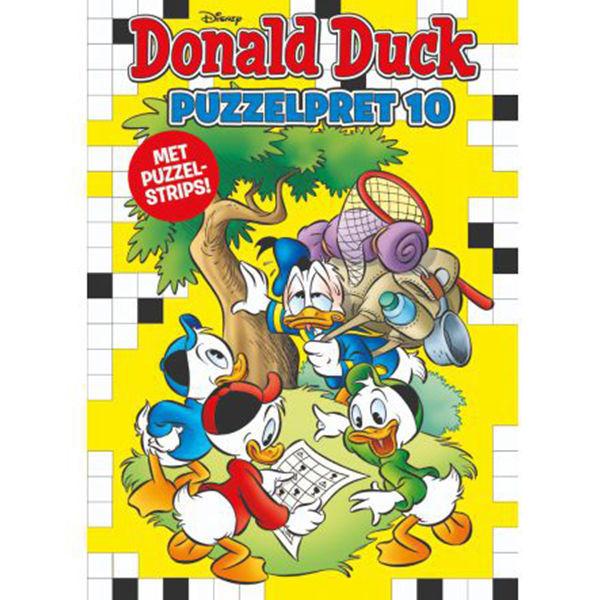 Product afbeelding: Donald Duck Puzzelpret 10
