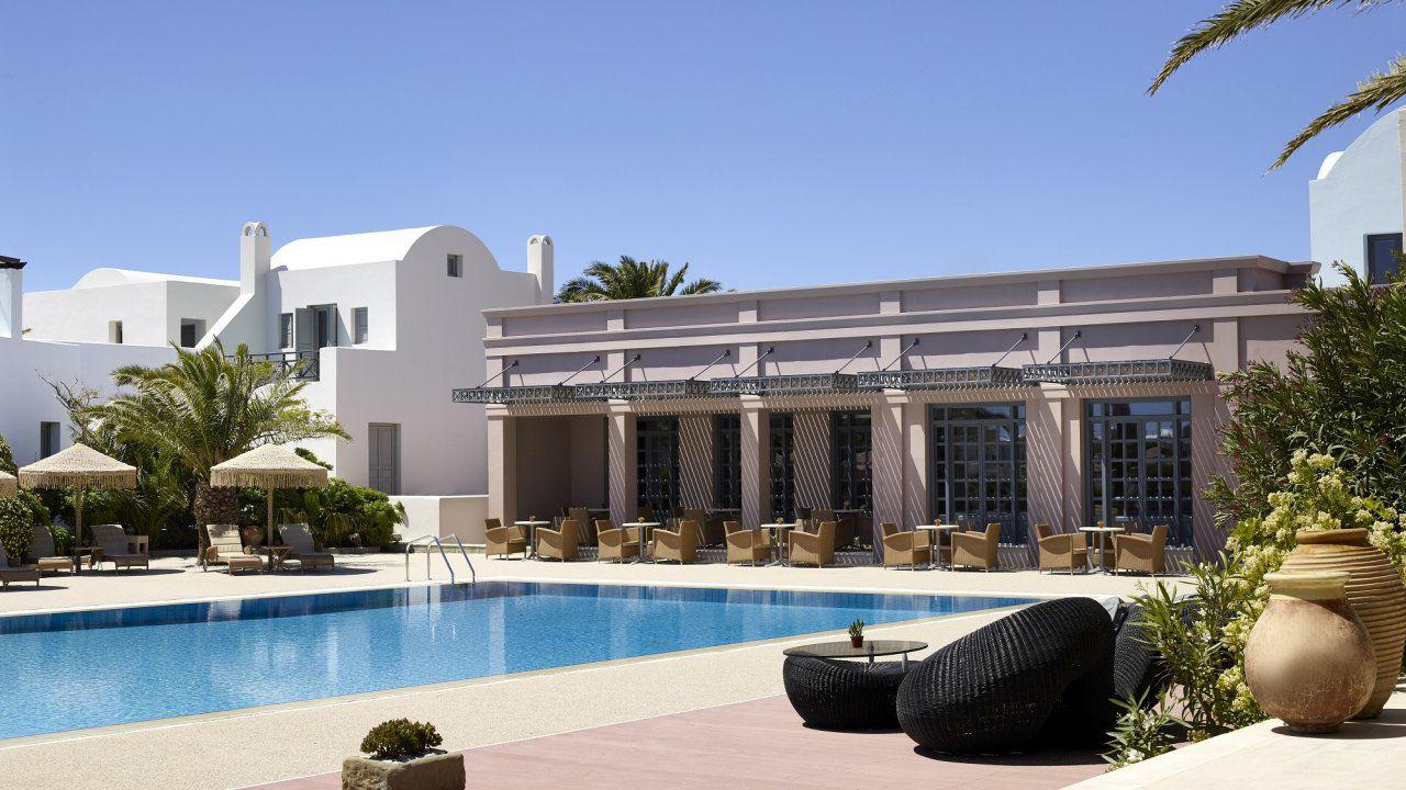 Product afbeelding: 5*-resort op Santorini incl. ontbijt