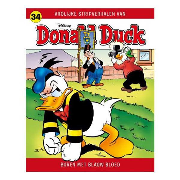 Product afbeelding: Donald Duck Vrolijke Stripverhalen 34