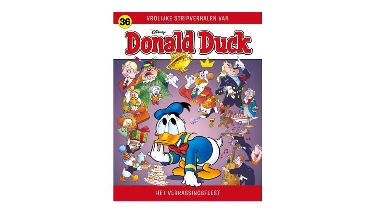 Product afbeelding: Donald Duck Vrolijke stripverhalen 36