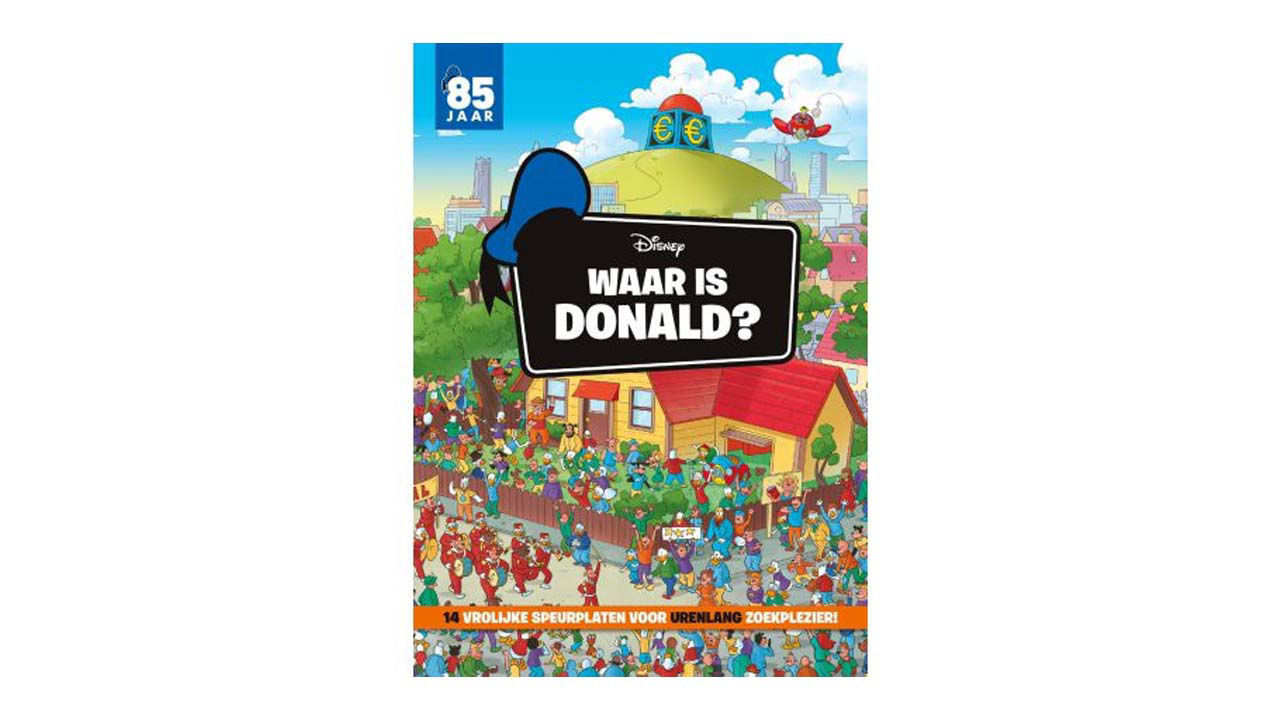 Product afbeelding: Waar is Donald?