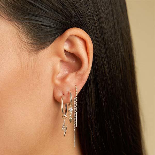 Korting Eline Rosina Complete your look oorbellen Zilver