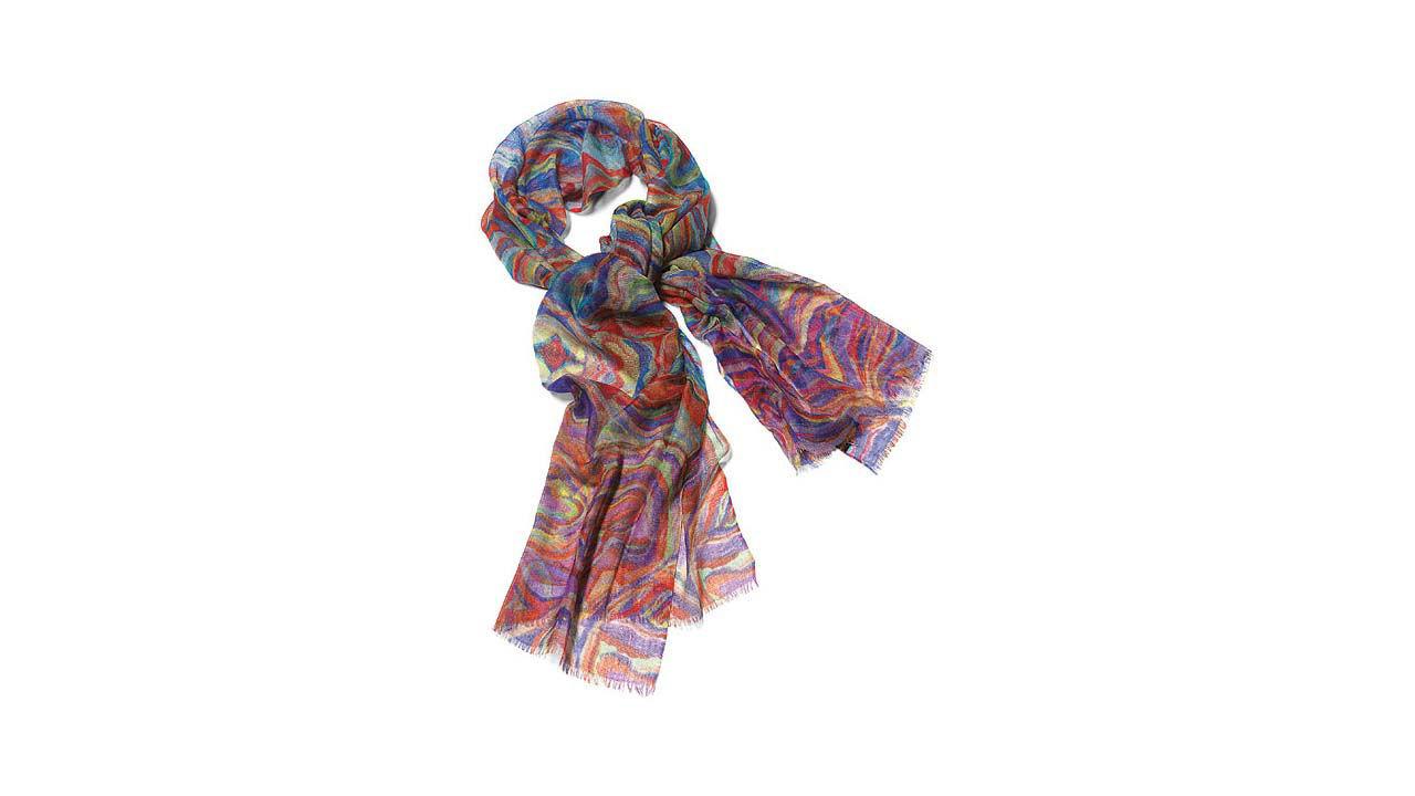 Product afbeelding: Pashmina sjaal 'Regenboog'