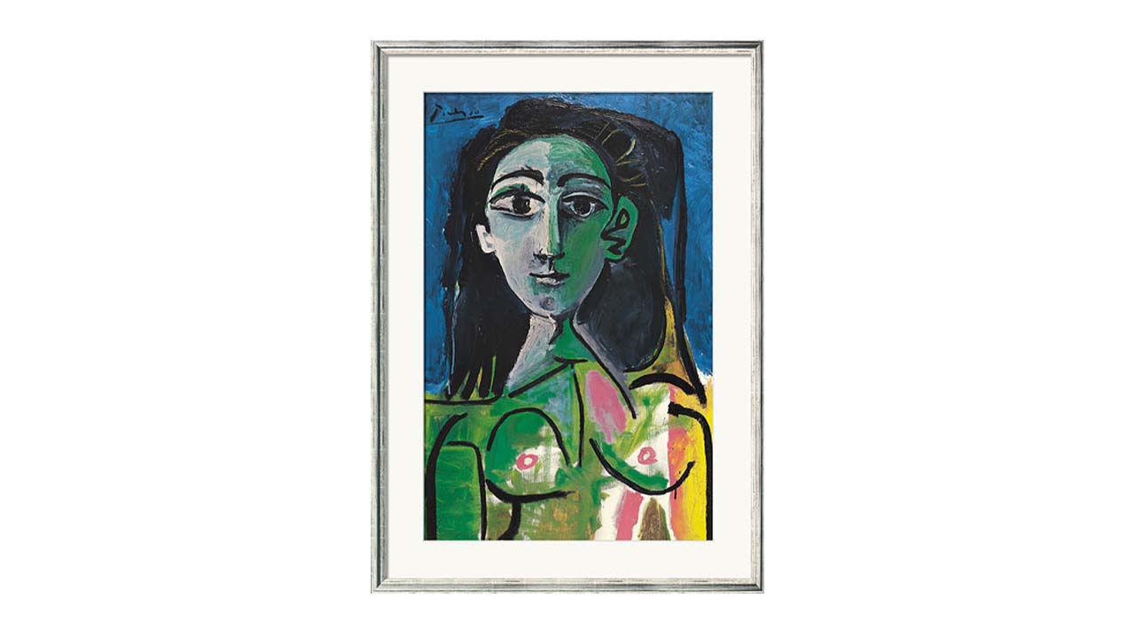 Product afbeelding: Pablo Picasso schilderij 'Buste van een vrouw (Jacqueline)'